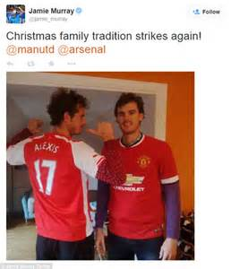 alexis sanchez brother new jumper please andy murray s miffed with sweater but