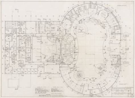circus circus floor plan unlv libraries digital collections architectural drawing of circus circus las vegas second