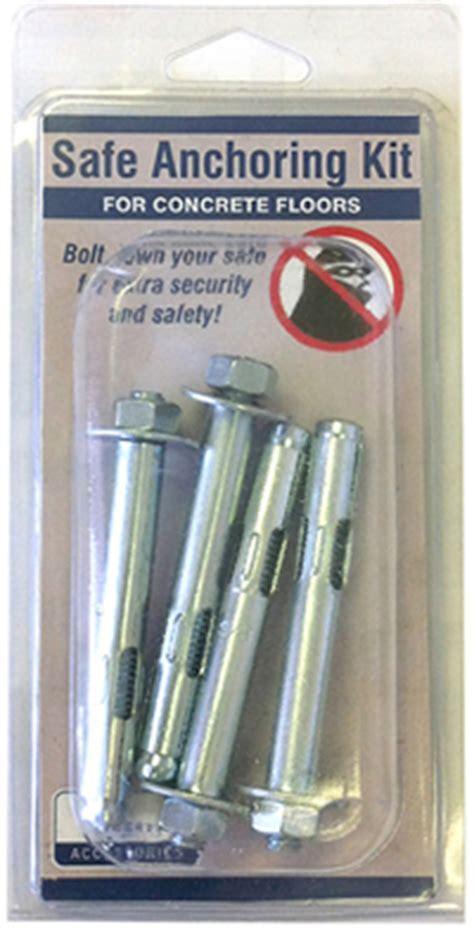 Liberty Safe Anchor Kit   Safe Bolt Down Kit   Liberty Safe