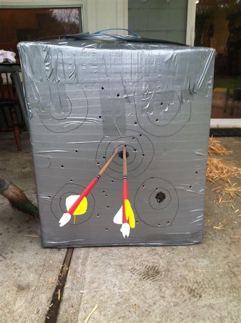 inexpensive diy archery target city archery