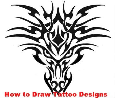 tattoo tribal how to draw easy designs to draw for a tattoo