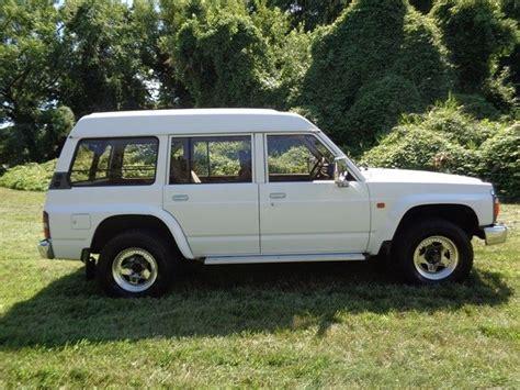nissan patrol 1990 road 1990 nissan safari patrol 4x4 4 2l diesel only 55k