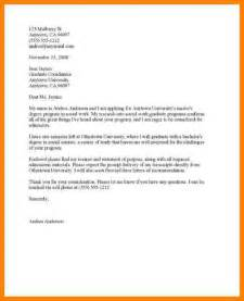 Cover Letter Application Template by 5 College Application Cover Letter Template Farmer Resume