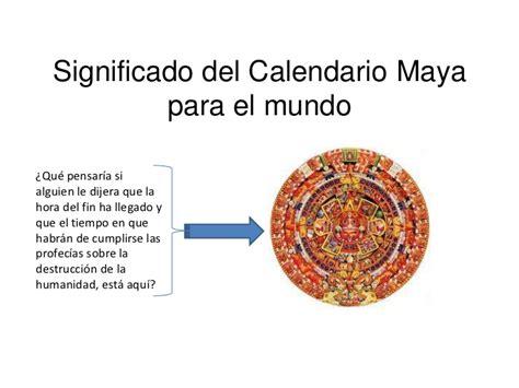 imagenes mayas con significado significado del calendario maya