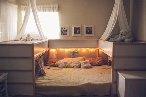 ikea bed hack mom hacks ikea beds creating a superbed that fits all 7