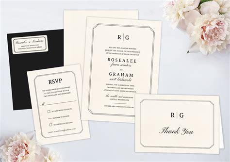 Package Wedding Invitations by Wedding Invitation Packages By Wedding Paperie