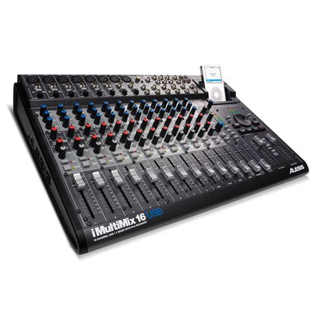 Mixer Audio 16 Channel alesis imultimix 16 usb 16 channel usb mixer