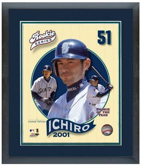 Ichiro Suzuki 2001 Ichiro Suzuki 2001 Rookie Series 11 Quot X 14 Quot Framed