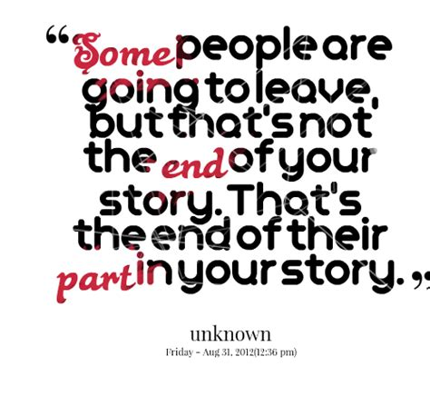 Quotes About Your Leaving You