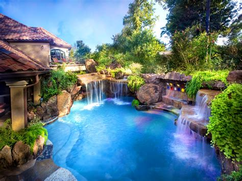 beautiful backyard swimming pools patio adorable backyard landscaping ideas swimming pool
