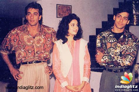 biography of film saajan salman khan sanjay dutt madhuri dxit s saajan turns 25