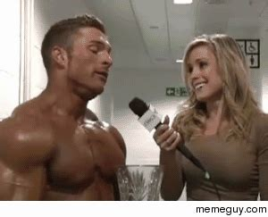 Buff Guy Meme - and heres me thinking that girls didnt like so much muscle