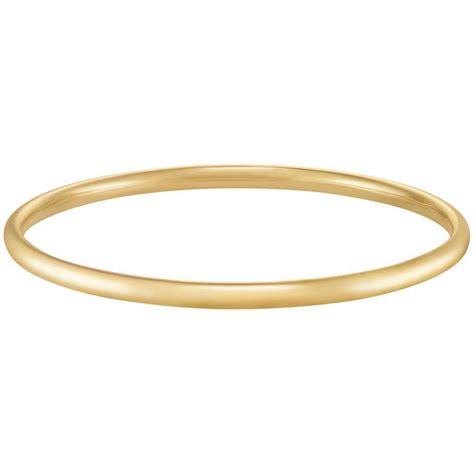 forever last 10k yellow gold bangle bracelet ebay
