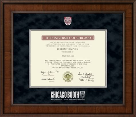 Uchicago Mba Courses by Of Chicago Booth School Of Busines Presidential