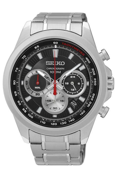 Seiko Chronograph Spc083p1 Silver Black seiko ssb241 chronograph stainless steel quartz black