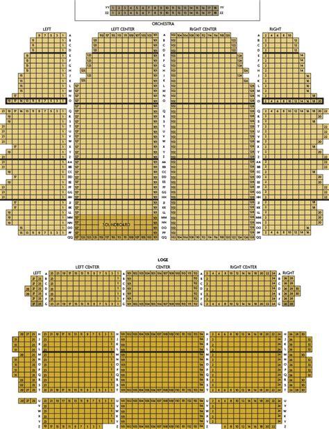 landmark theater syracuse seating chart seat map landmark theatre
