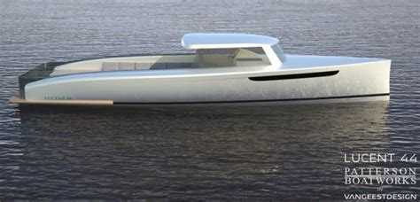 patterson boat company new patterson boatworks lucent 44 superyacht tender