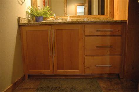 shaker bath vanity