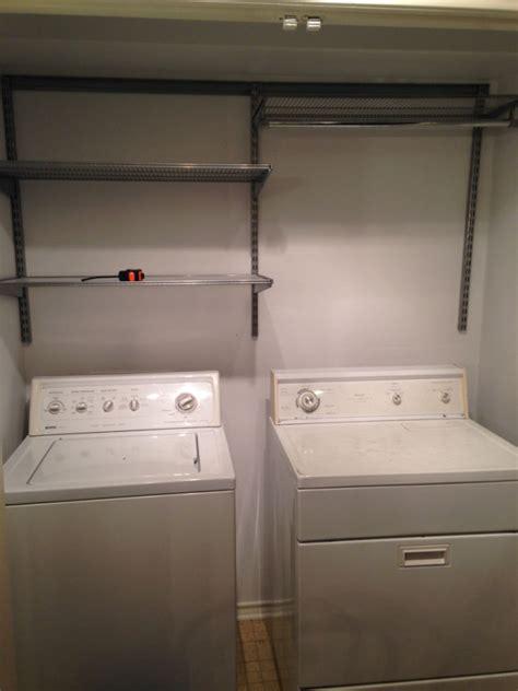 elfa laundry laundry room re do