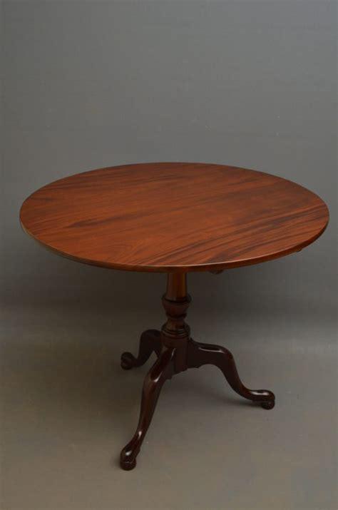 georgian tilt top table in mahogany antiques atlas