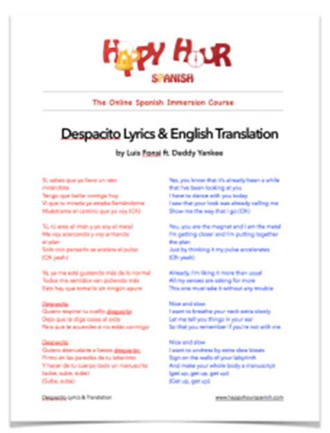 despacito hindi version lyrics download despacito spanish lyrics english translation