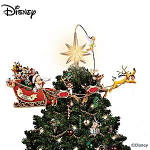 disney tree toppers for christmas trees disneys timeless treasures tree topper
