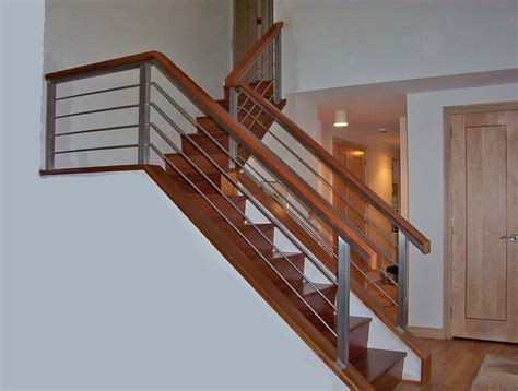 steel banister interior stair and railing design ideas photos and