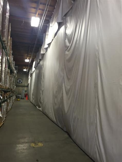insulated curtain wall osha s heat regs require warehouse cooling solutions in