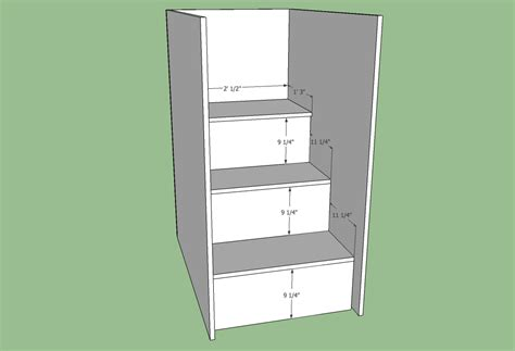 Bunk Bed Plans With Stairs Free Plans For Loft Bed With Stairs Woodworking Projects