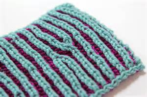 two color brioche knitting knitting
