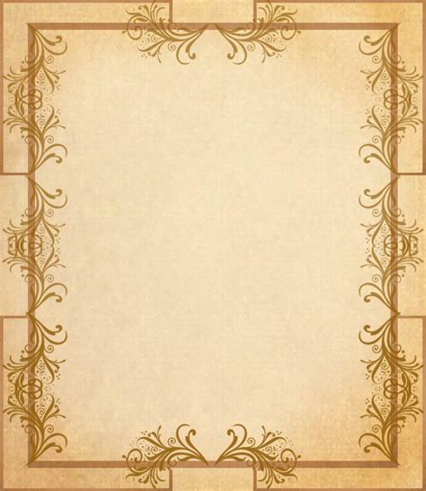 How To Make Paper Borders - border paper 6 by spidergypsy on deviantart