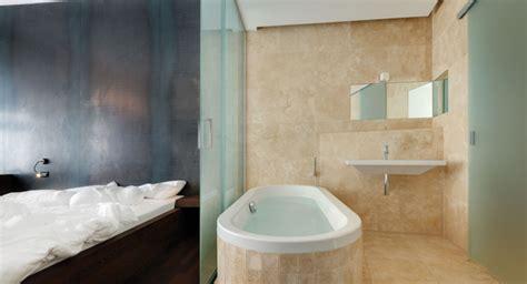 Bad Und Schlafzimmer In Einem Raum by Schlafb 228 Der Bad Design