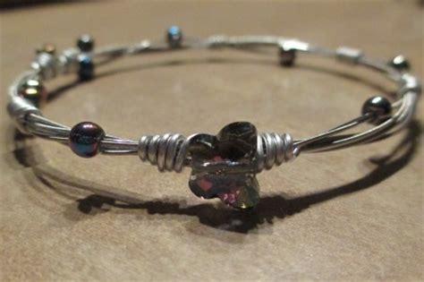 guitar string bracelets bangles jewelry making journal