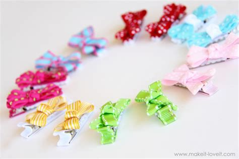 How To Make Handmade Hair Bows - 34 handmade gift for boys girls with