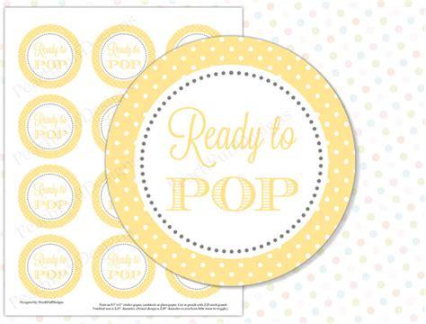 Ready Instan Yellow ready to pop sticker yellow instant ready to pop