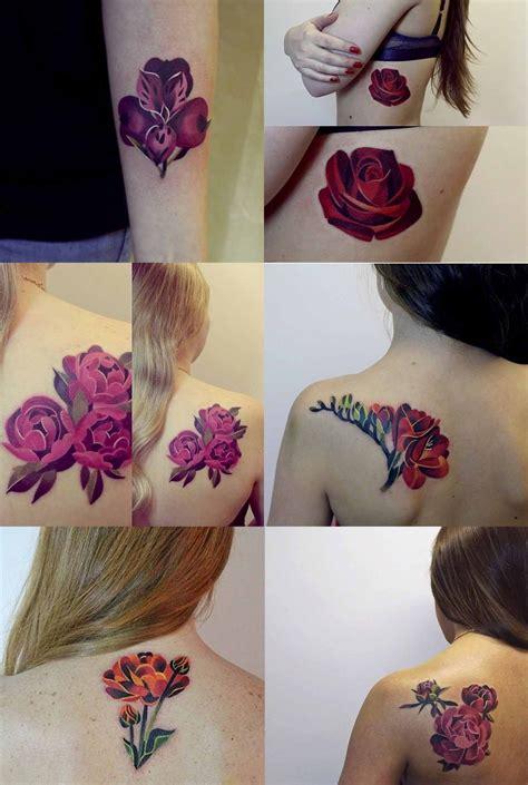 tattoo rusa flowers tattoos sasha unisex esta artista rusa hace unos