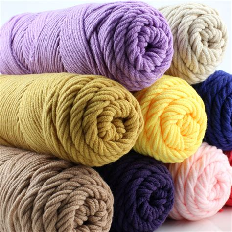 cotton knitting wool wholesale 5 balls 500g knitting yarn baby cotton silk wool
