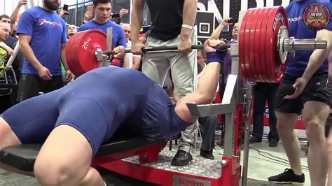 world record bench press kg kirill sarychev 335 kg raw bench press world record 2015