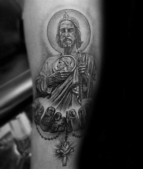 san judas tattoo 40 st jude designs for religious ink ideas