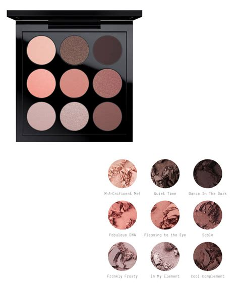 Eyeshadow X 9 Times Nine mac eyeshadow x 15 and eyeshadow x 9 palettes for 2016