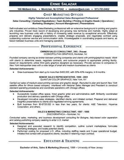 Chief Marketing Officer Cover Letter by 461 Best Images About Resume Sles On Resume Builder Cover Letters And