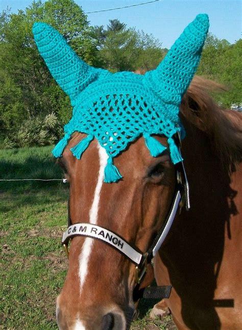 etsy horse pattern crochet horse fly bonnet pattern horse fly bonnet etsy