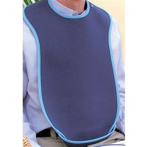 Bioprene Adult Bib   Large   Adult Bibs   Manage At Home