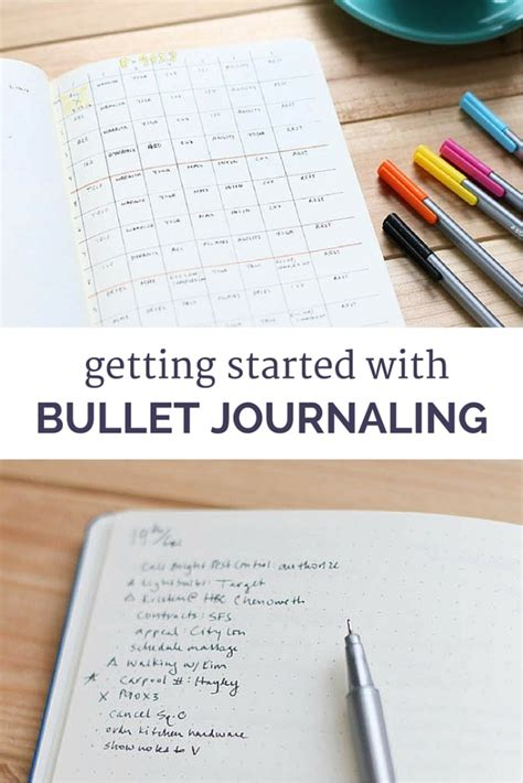 bullet journal tips and tricks my first week with the bullet journal modern mrs darcy