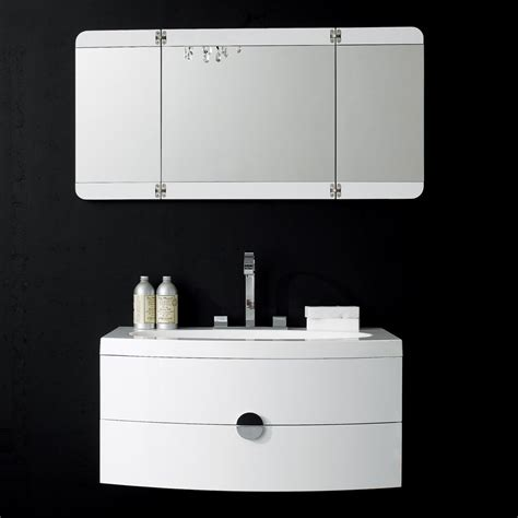 Lusso Stone Vanessa Wall Mounted Designer Bathroom Vanity Bathroom Vanity Units
