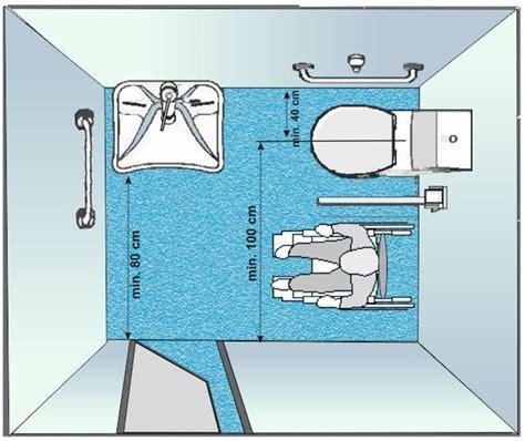 schema bagno disabili realizzare un bagno per disabili il bagno realizzare