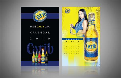 Garage Door Design miss carib beer usa calendar am creative group