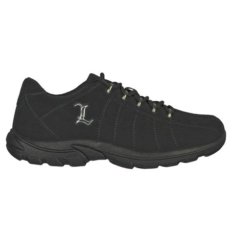 lugz notts mens sneaker black stylish footwear
