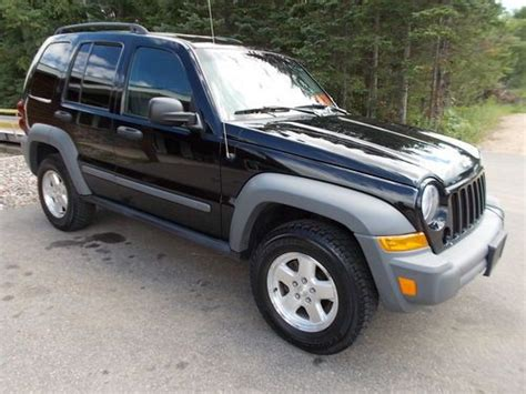 Jeep Liberty Crd For Sale Buy Used 2006 Jeep Liberty Crd Turbo Diesel 4x4 Sport In