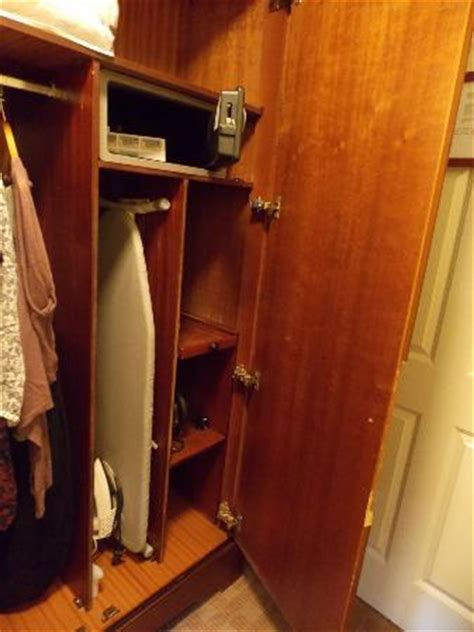 Iron Wardrobe by Wardrobe With Iron Ironing Board And Safe Picture Of